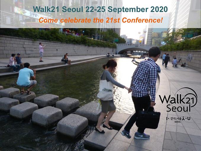 Walk21 Seoul 2020