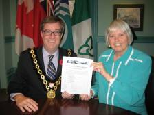Mayor and TRC Chair
