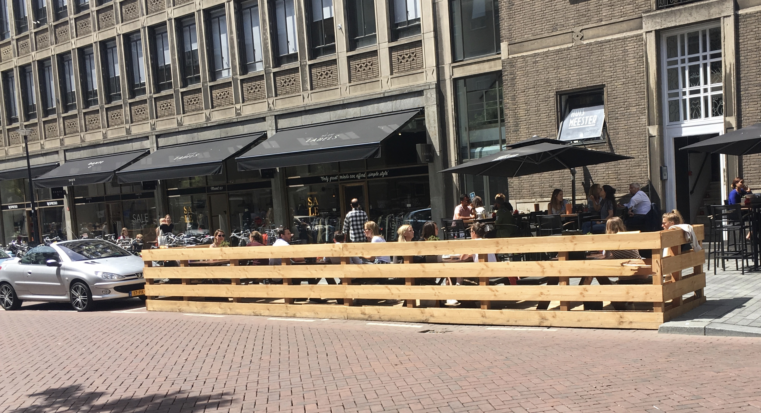 Rotterdam road space reallocation