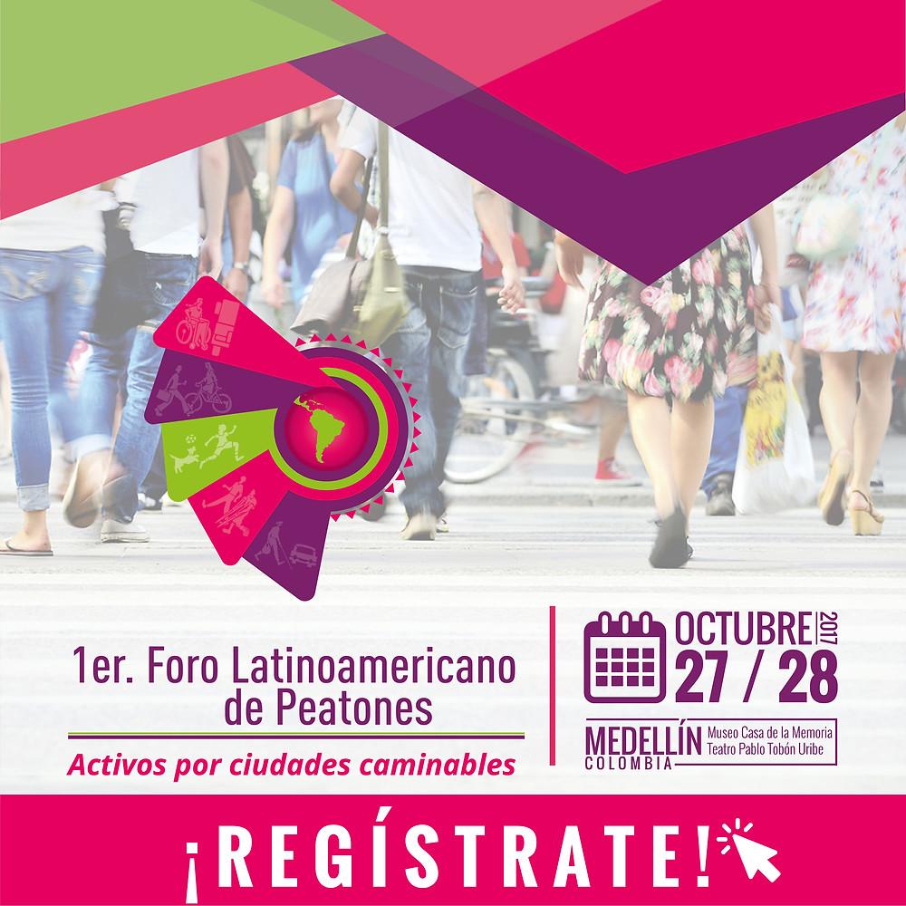 medellin walking conference poster
