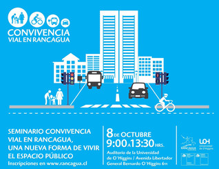 Rancagua, Chile is inspired by the International Charter for Walking