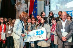 Walk21 Vienna, 2015