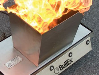 bullex portable ITS fire trainer