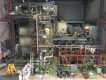 gas turbine power station