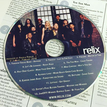 Featured on January_February 2016 Relix Sampler CD