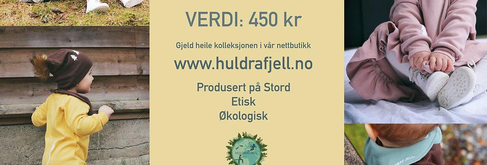 Gåvekort 450 kr