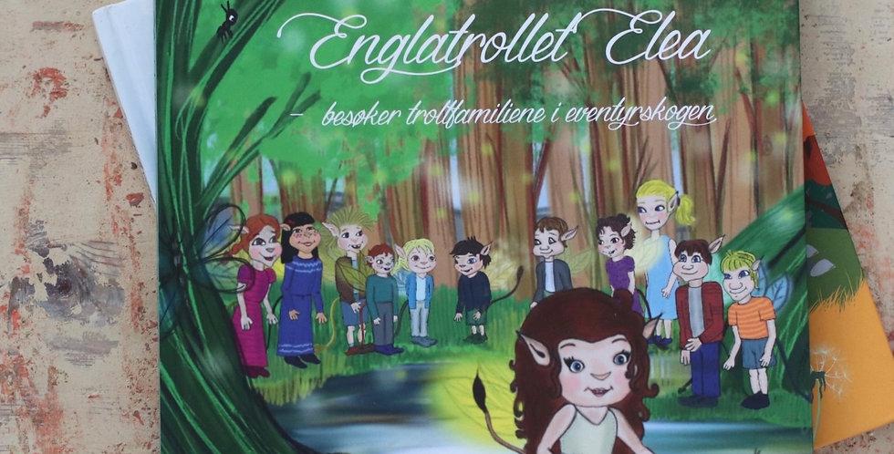 Englatrollet Elea besøker trollfamiliane i eventyrskogen