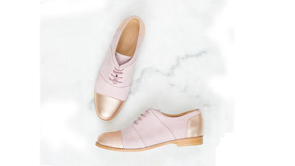 House of Spring Gigi Nude Brogues