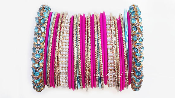 Indian bangles churi set