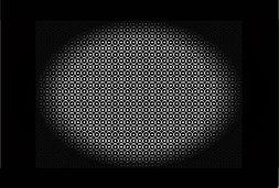 1000 Ronds et Cercle Blancs