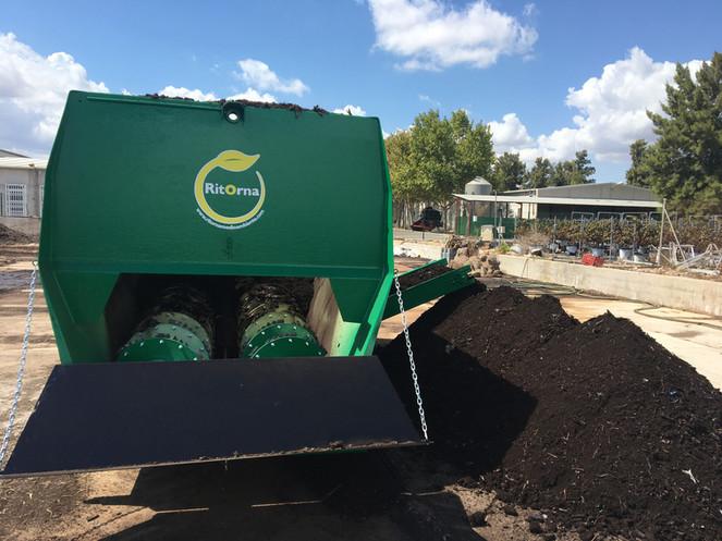 Mezcladora trituradora para compostaje-Ocasión!