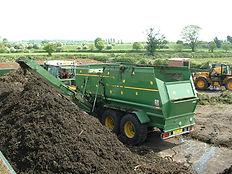 mezcladora de compostaje