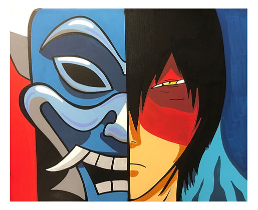 Prince Zuko/Blue Dragon