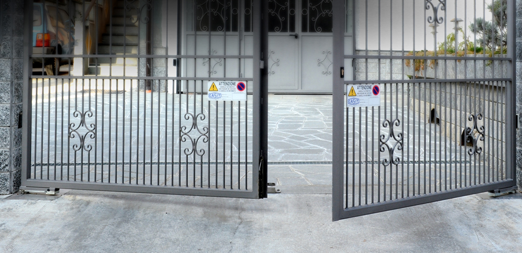 Automatisme portails battant enterré