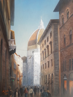 The Duomo, Florence - SOLD
