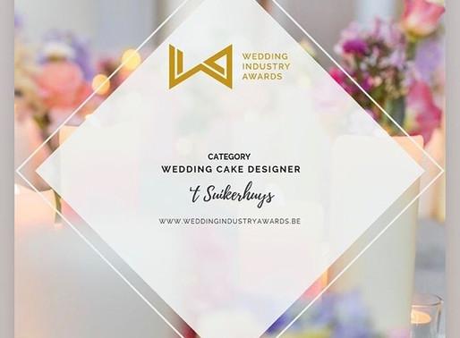 Wedding cake designer 2019 -award