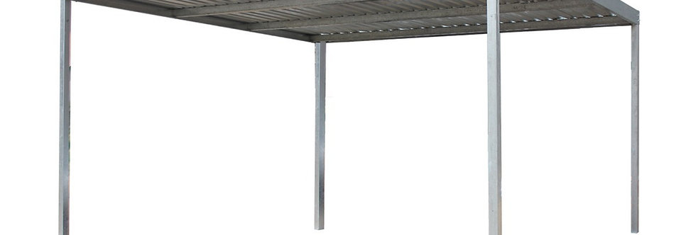 3m x 3m with 3m posts Mild Steel Carport Kit
