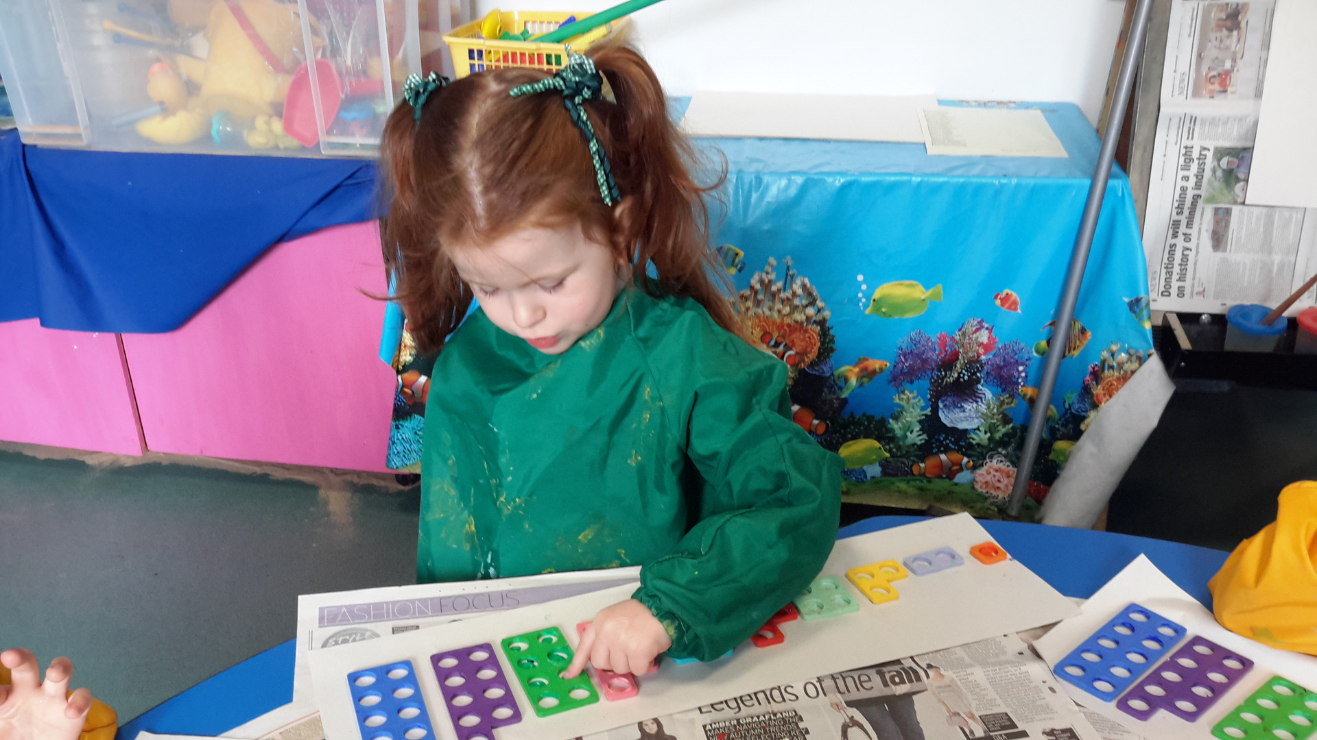 Numicon Painting