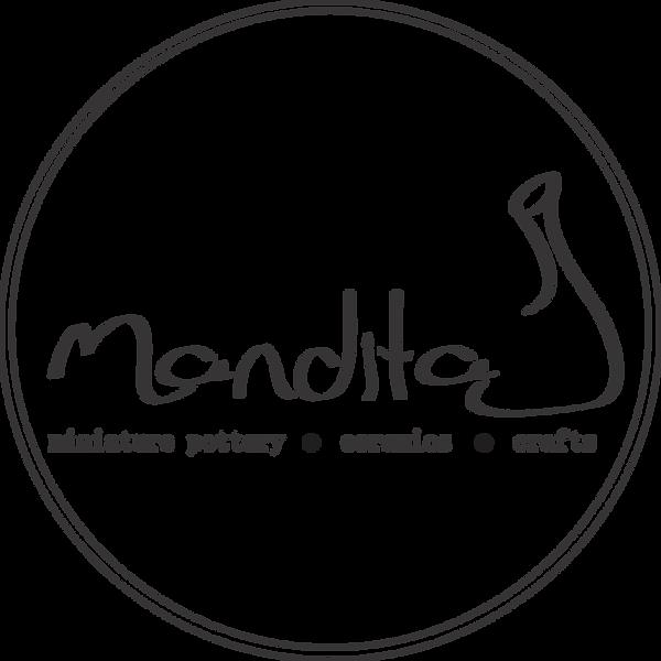 mandita logo pottery