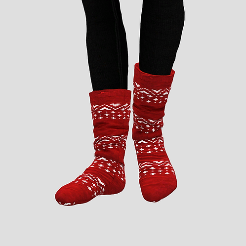 Christmas socks (shoes category)