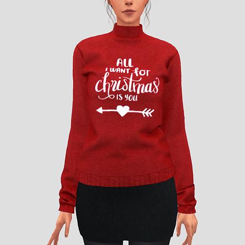 Matching christmas sweater (F)