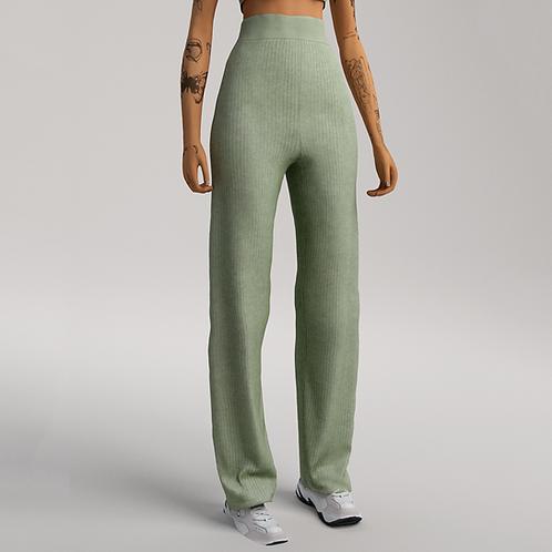 Rib Knit Trousers