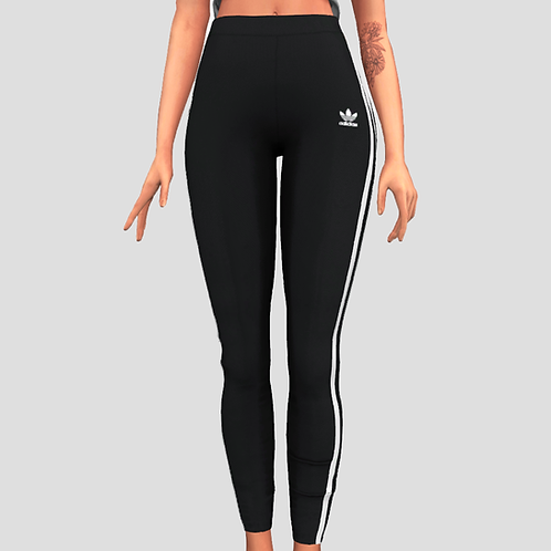 Adidas stripe leggings