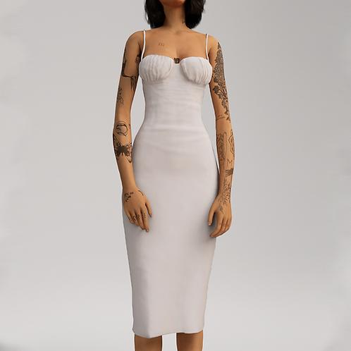 Casual Satin Dress
