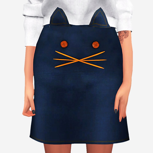 Cat Lover Skirt