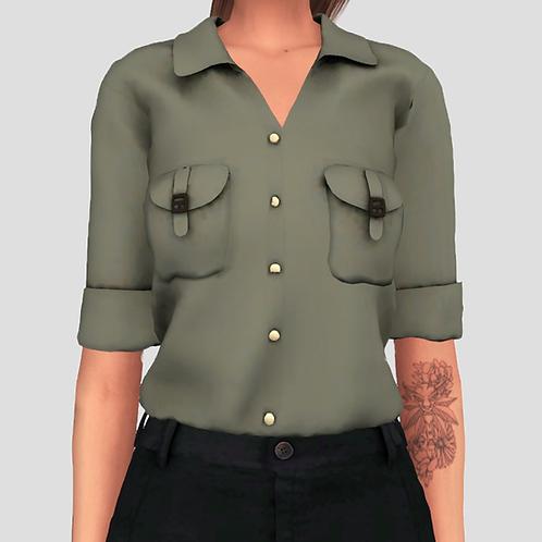 Safari blouse