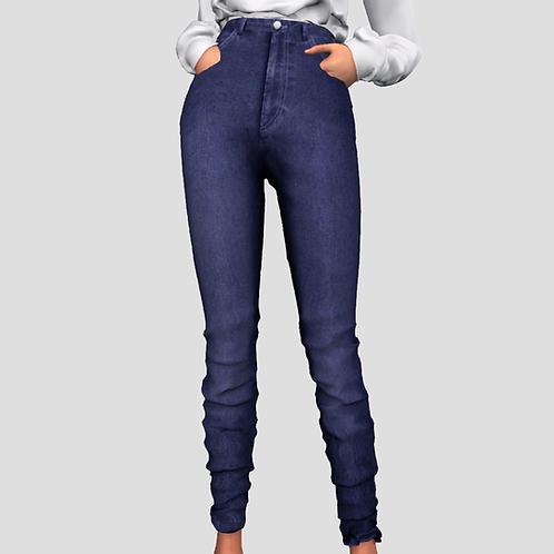 Classic High Waist Jeans