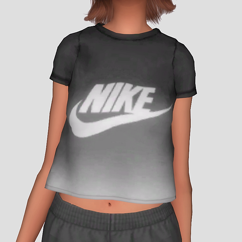 80's Ombre T Shirt