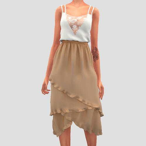 Tank strappy dress