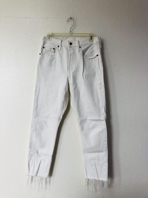 Levis White Jeans