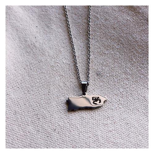 Borikén Necklace Silver