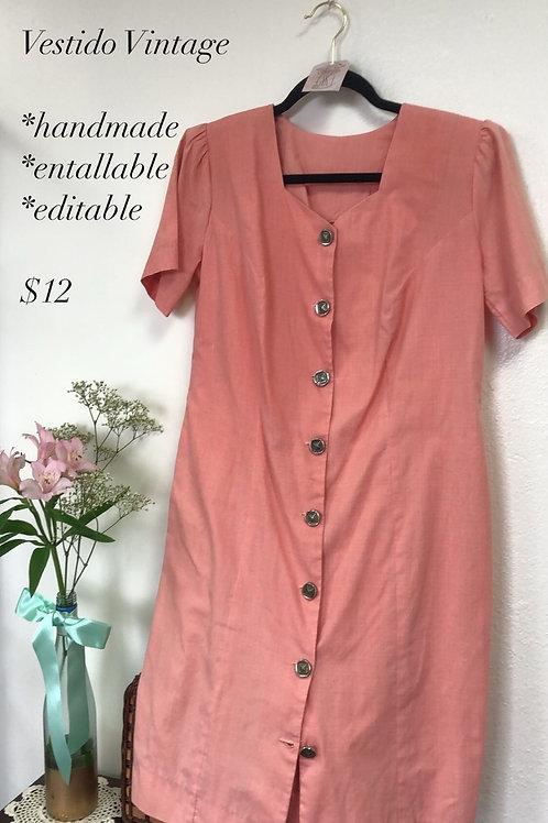 Lady Peach Vintage Dress