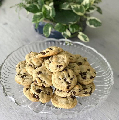 Chocolate chip cookies for today's clien
