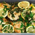 Chicken piccata on the menu for today's