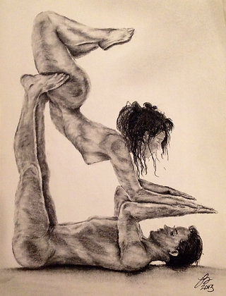 Couples Yoga Pose #4