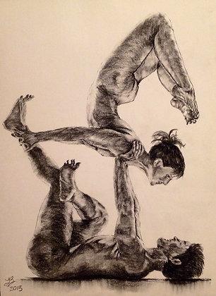 Couples Yoga Pose #3
