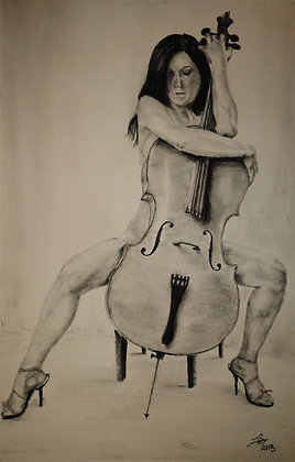 Woman and Cello