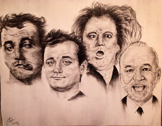 Faces of Bill Murray