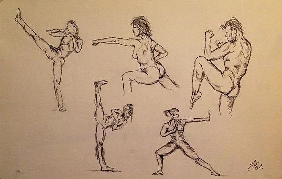 Karate Movement Study
