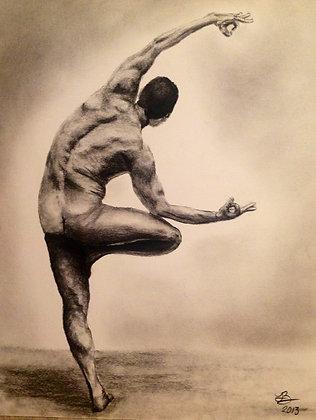 Male Yoga Pose #1
