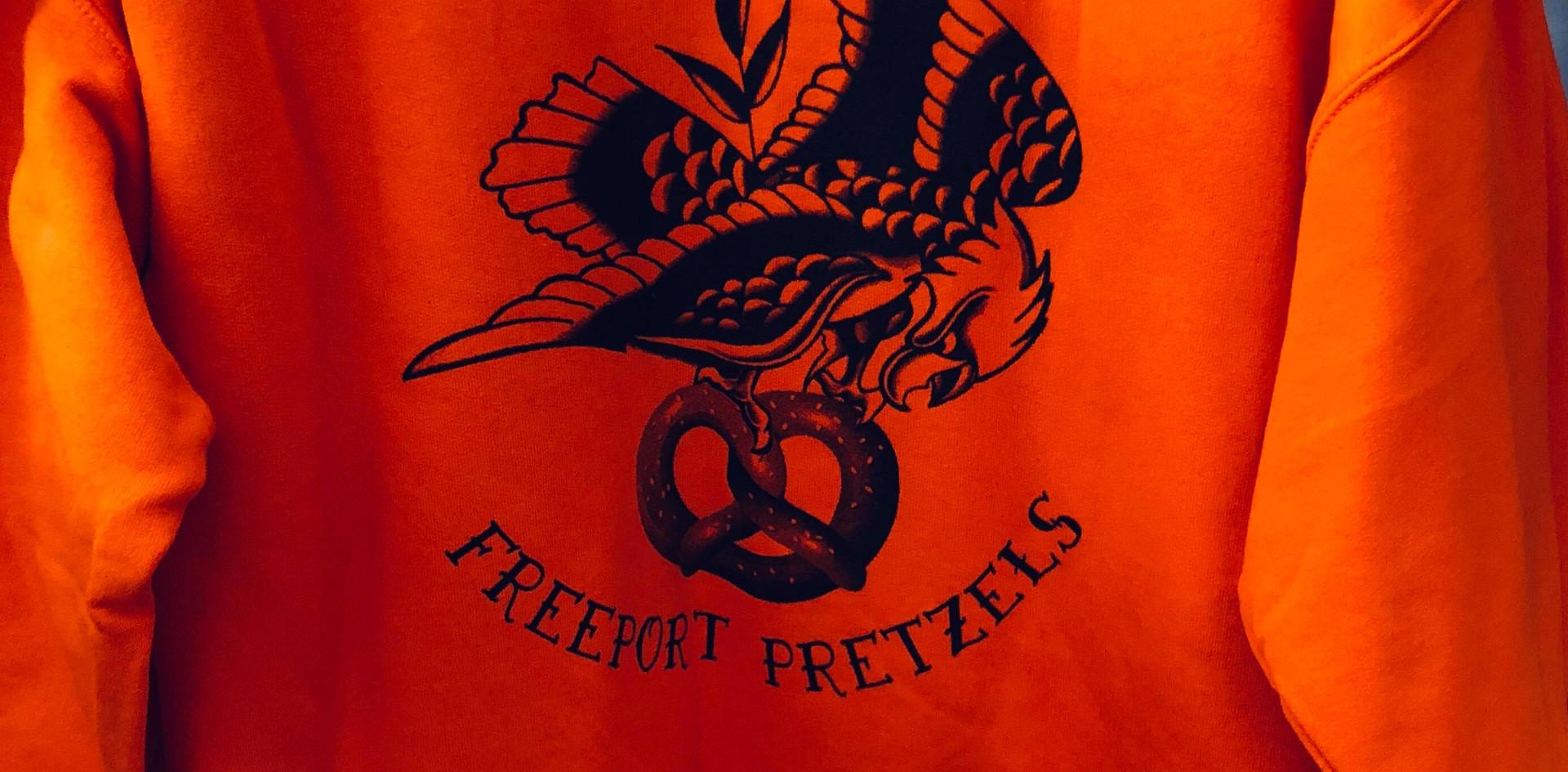 Freeport Pretzels Eagle