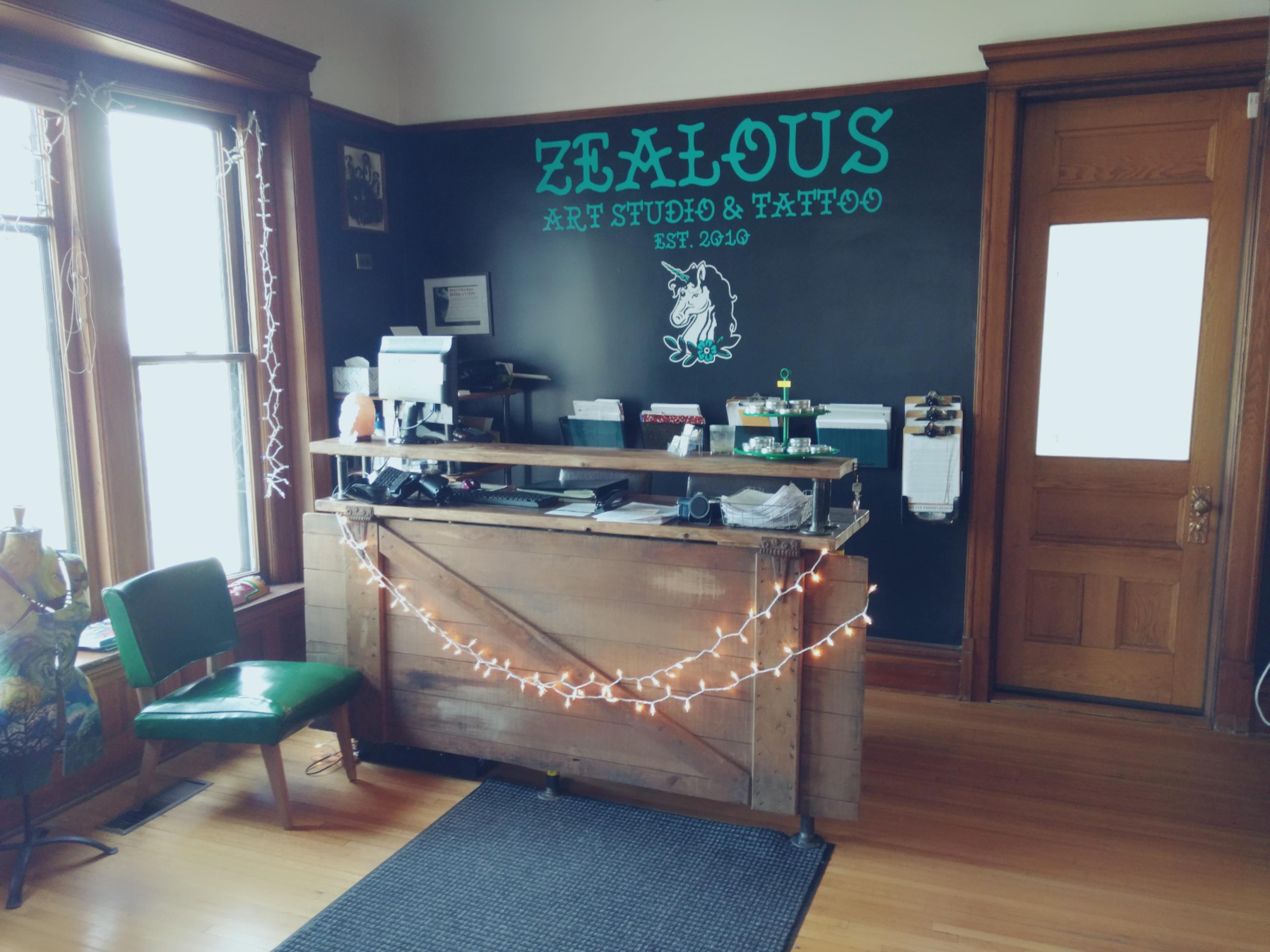 Zealous Front Entrance