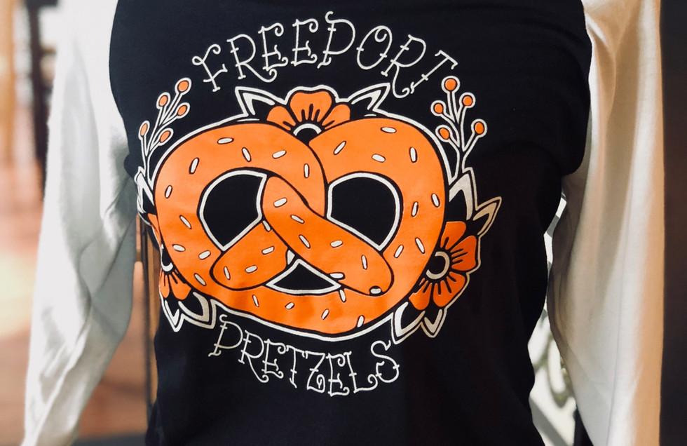 3/4 Pretzel Print