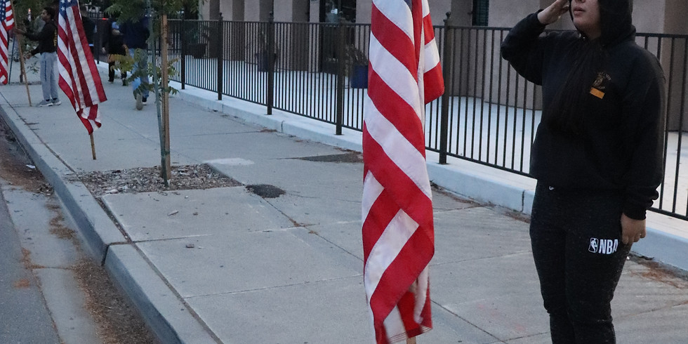 Flags Over Manteca Veterans Day