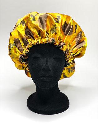 Summer Ruffled Bonnet