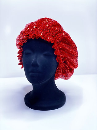 Romance  Ruffled Bonnet